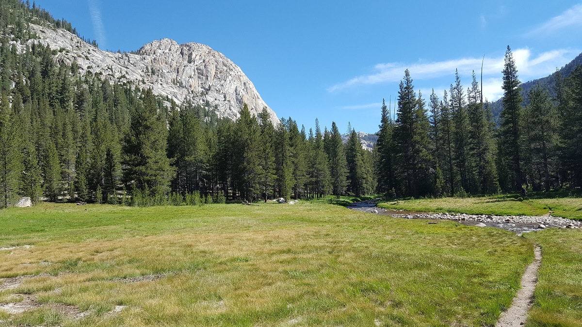 PCT dans la Sierra Nevada - PCT in the High Sierra Nevada